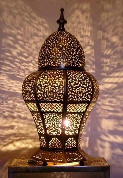 светильник в марроканском стиле