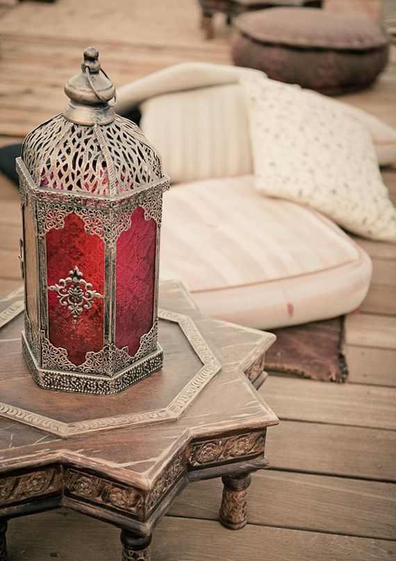 классическая марокканская лампа