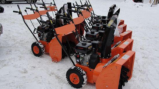Ротор для квадроцикла для уборки снега